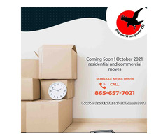Coming Soon ! October 2021 Residential and Commercial Moves